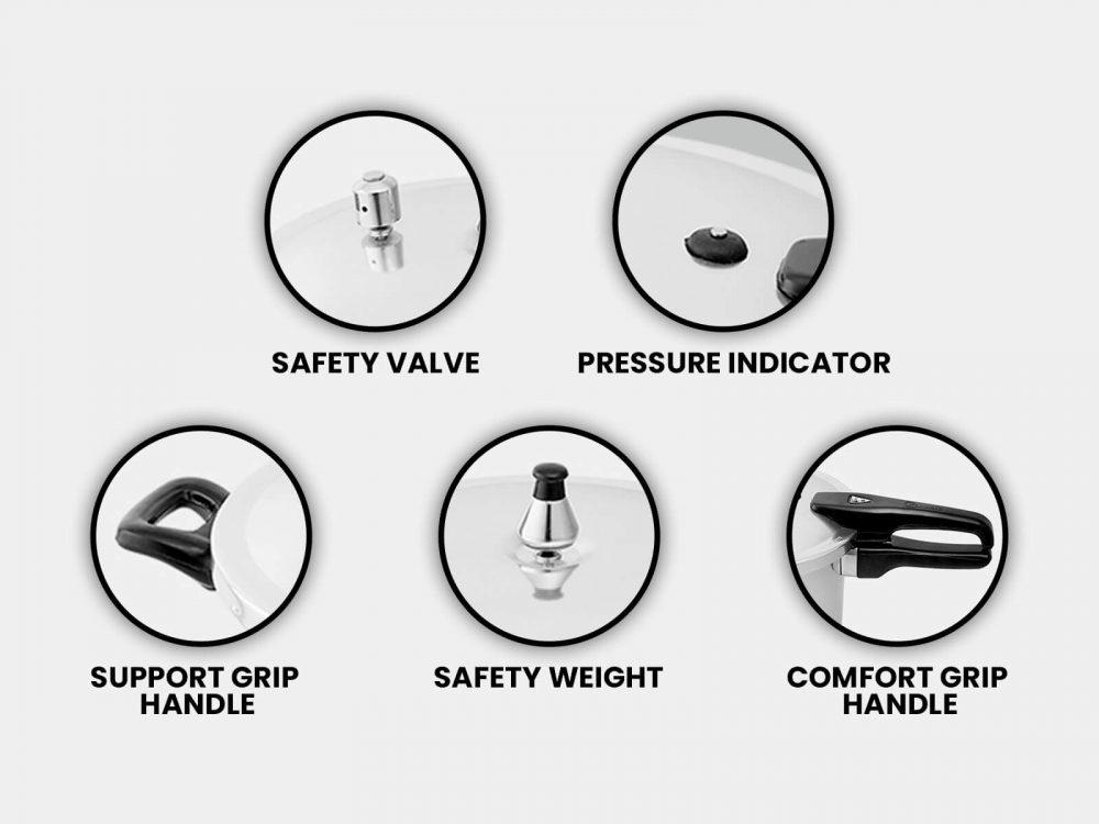 Pressure cooker safety guidance